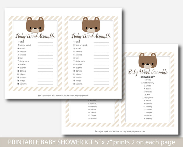 baby shower games, baby shower bingo, teddy bingo, bear bingo,   teddy bear, teddy bear baby,  teddy bear theme, teddy bear shower,  teddy bear baby game, teddy bear game, bear baby shower, bear shower games, bear games,