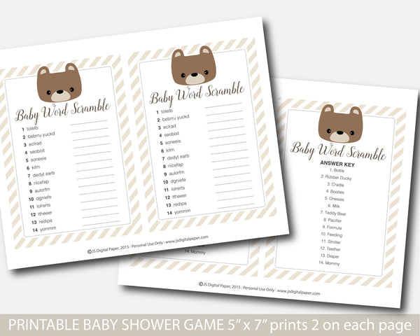 baby shower, baby shower games, teddy baby shower, teddy scramble game, bear baby scramble, bear baby word, bear word scramble, bear word game, bear scramble game, bear baby games, teddy bear games, bear teddy games, teddy bear scramble,