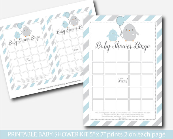 Little chick baby shower game set, Ready to hatch baby shower games, Bird baby shower game, BC1-01