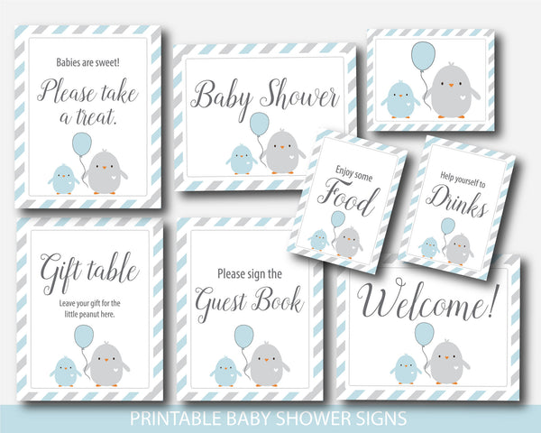 Chicken baby shower table signs, Farm baby shower table sign, Ready to hatch table sign, Chick table signs, Bird baby shower table signs, BC1-07