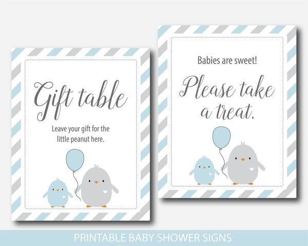 Chicken baby shower table signs, Ready to hatch table sign, Bird baby shower table signs, BC1-07