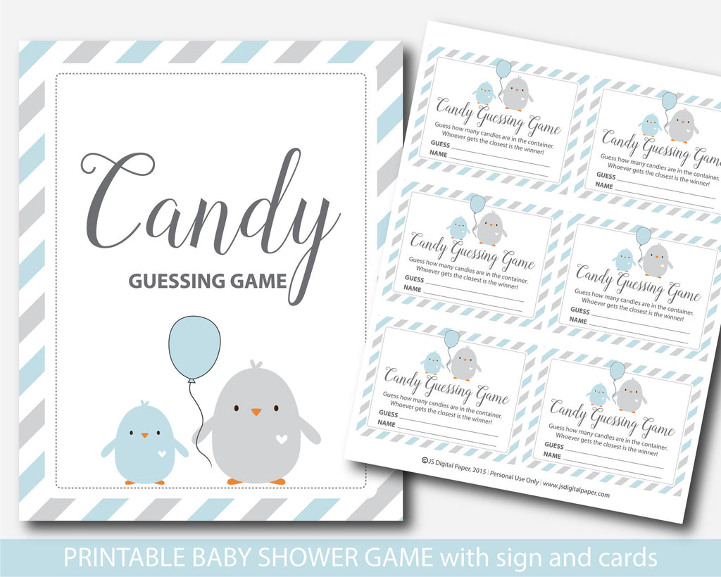 ... Candy Guessing Game, Mu0026Ms Guessing Game, Candies Guessing Game, Chicken  Blue Baby Shower ...
