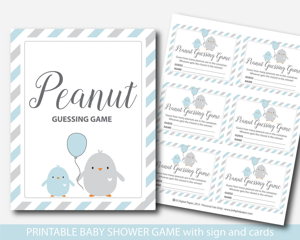 ... Little Chick Candy Guessing Game, Mu0026Ms Guessing Game, Little Chick Baby  Shower Guessing Game
