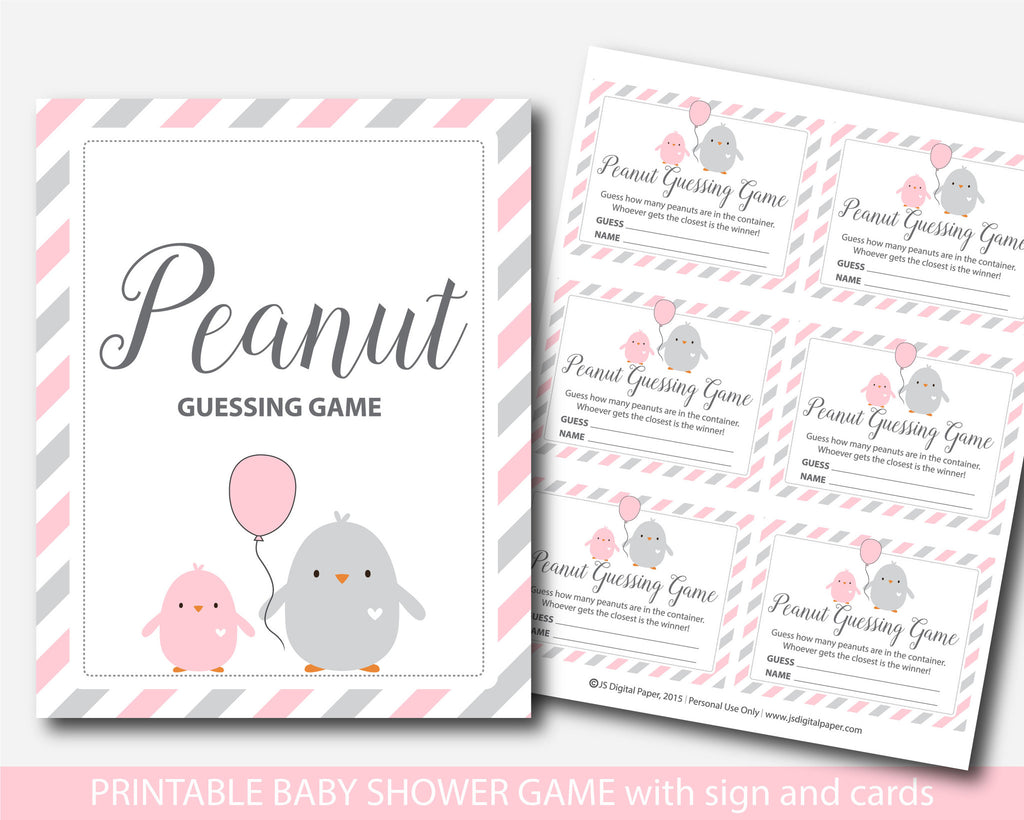 ... Chicken Candy Guessing Game, Mu0026Ms Guessing Game, Chicken Baby Shower  Guessing Game, BC2