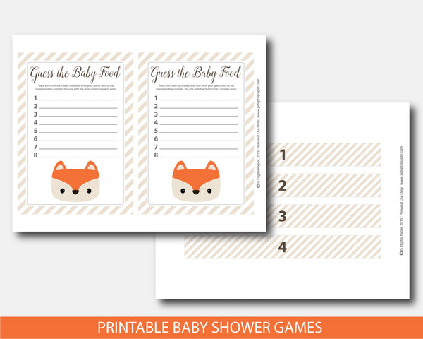 baby food game, guess baby foods, baby food guessing, baby shower fox, guess the baby food, guess baby food fox, fox game baby food, fox guess baby food, guess the baby food, fox food labels, fox food jar label, fox food game sign, fox food game cards,