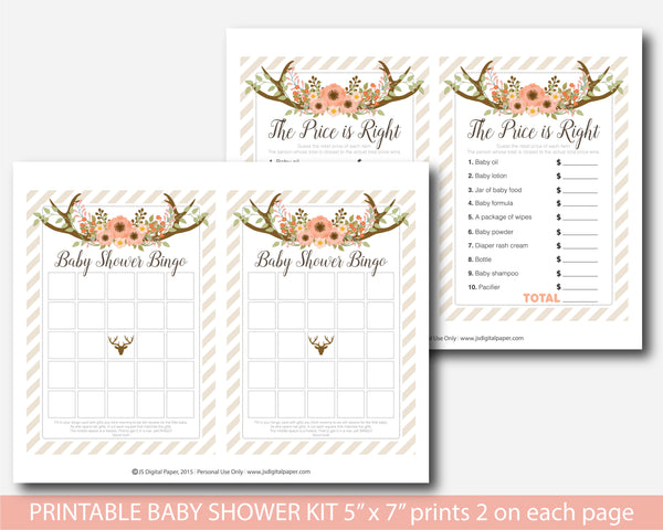 floral, floral baby shower, floral baby games, floral games,  boho, boho baby games, boho baby shower, boho games,