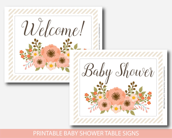 floral signs, floral table signs, floral baby shower, floral theme, floral decor,  boho signs, boho baby shower, boho baby theme,  flowers signs, flowers sign, flowers baby shower, flowers baby theme, flowers baby decor,