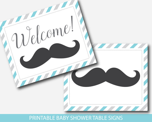 mustache signs, mustache table signs, mustache baby shower, mustache theme, mustache decor,  stache signs, stache baby shower, stache theme,  little man signs, little man sign, little man baby shower, little man theme, little man decor,