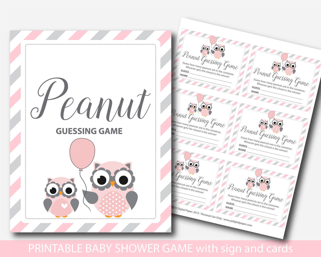 ... Owl Candy Guessing Game, Peanut Mu0026Ms Guessing Game, Pink Owl Candy Guessing  Game,