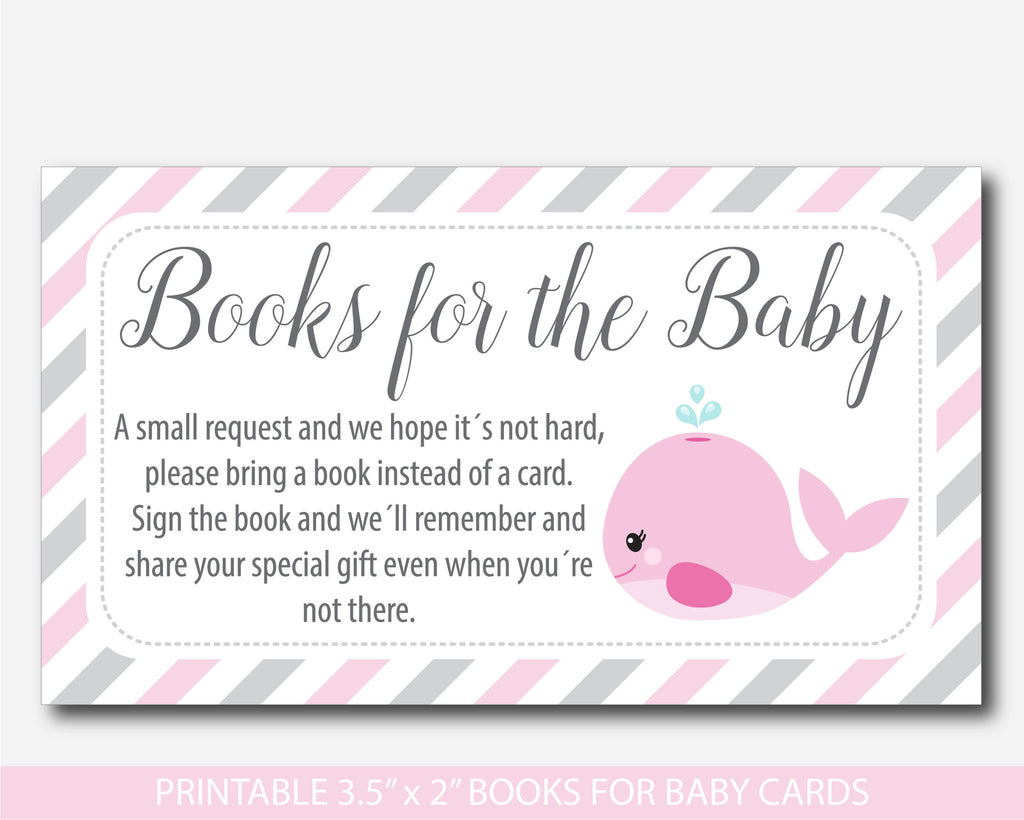 photograph relating to Bring a Book Instead of a Card Printable referred to as Boy or girl Shower Invitation Provide A Reserve In its place Of A Card #GS01