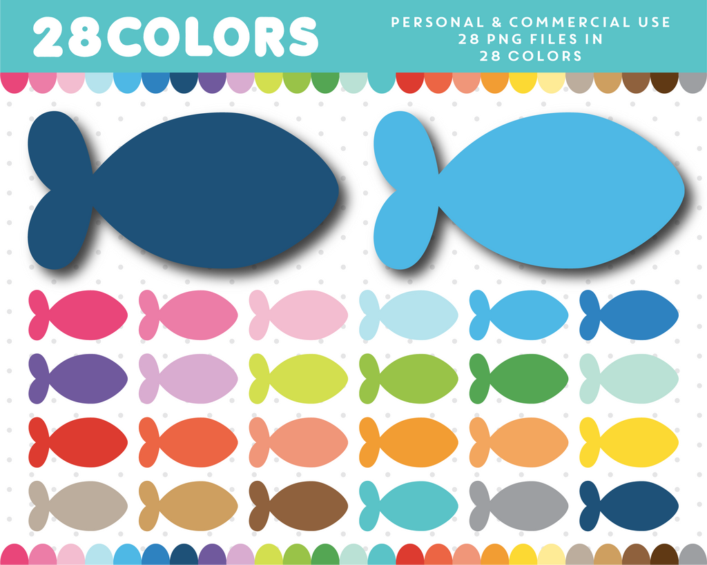 Fish clipart, CL-1441