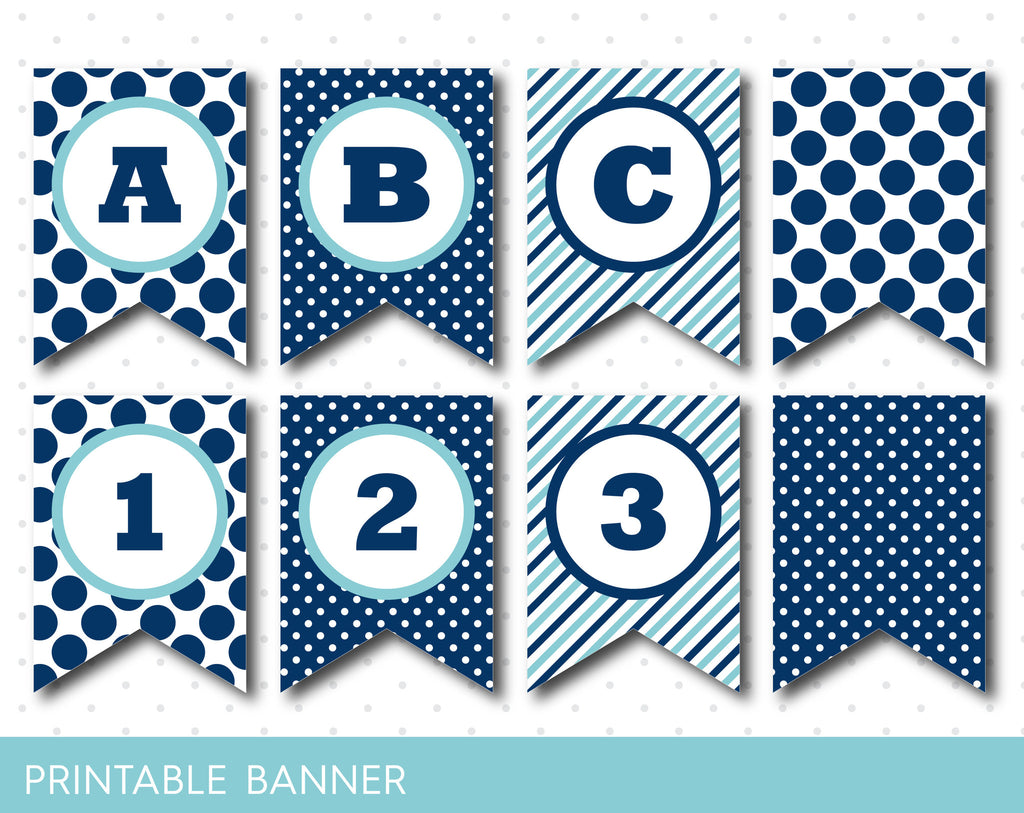 happy birthday printable banner