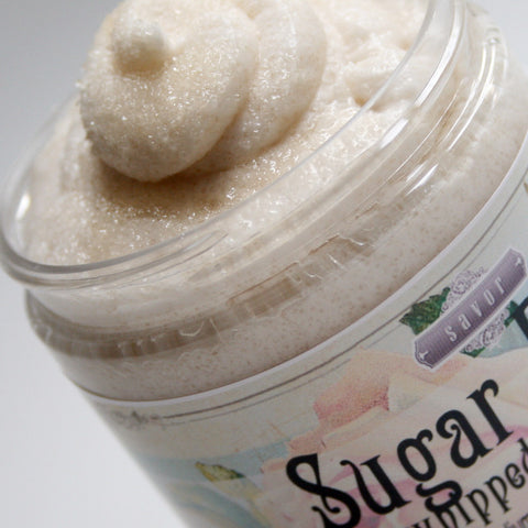 Body Polish and Sugar Whipped Soap Scrubs