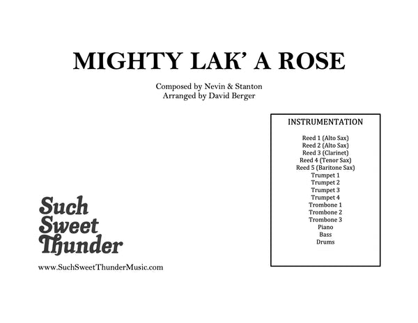 Mighty Lak' A Rose