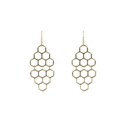 Cool Hexagon Earrings