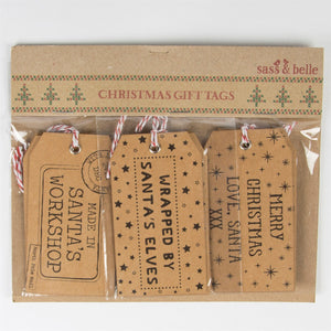 Santa's Workshop Gift Tags