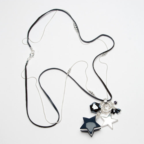 Star And Crystal Necklace