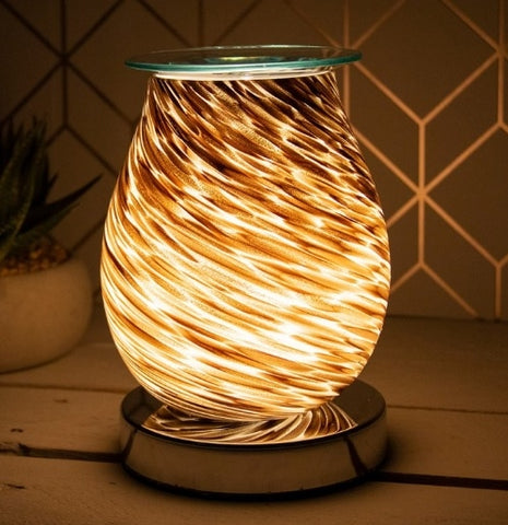 Glass Aroma Lamp / Wax Melter