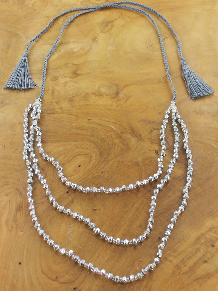 Three Strand Necklace