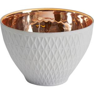 Copper and Ceramic Tealight Holder