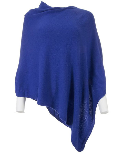 Cashmere Blend Classic Poncho - Various Colours