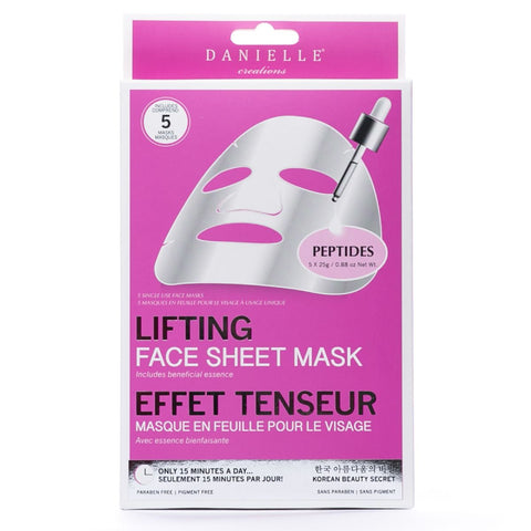 Peptide Lifting Face Mask - 5 In Pack