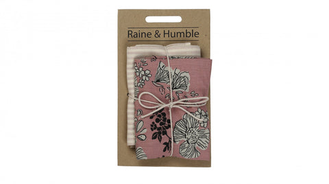 Estate Rose Tea Towel 2 Pack