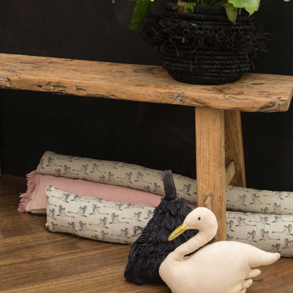 In Flight Draught Excluder - Grey Swan