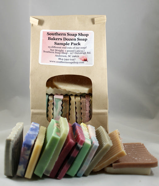 Bakers Dozen Soap Sample Pack