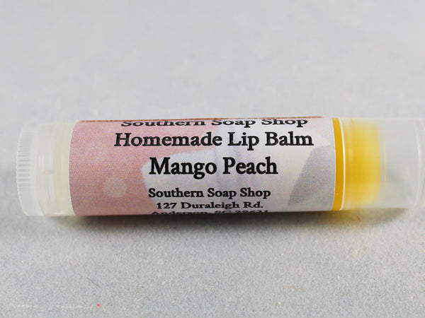 Mango Peach Lip Balm