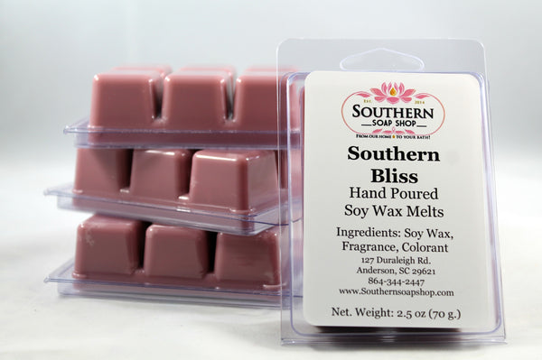 Another one of our Southern inspired soy wax melts all hand poured in South Carolina. This one will remind you of the early days of summer with its blend of delicate magnolia, bright peach and fragrant woods. These are for your plug - in melting pot