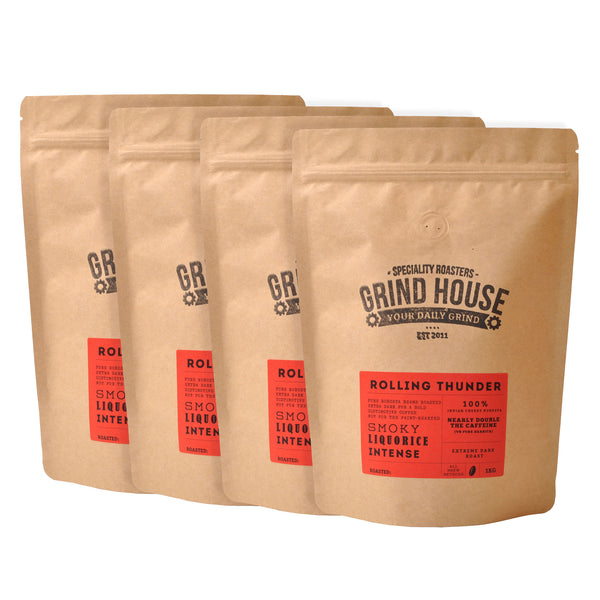 Grindhouse Rolling Thunder Super Caffeinated Roast