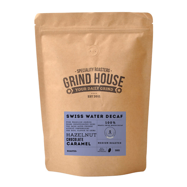 Grindhouse Premium Brazil Swiss Water Decaffeinated