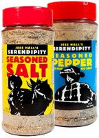 Large Shaker Combo - Seasoned Salt & Pepper - With MSG