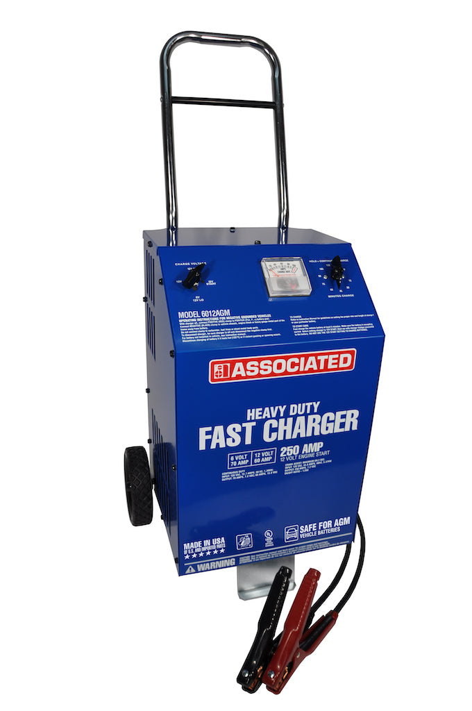 AE 6012AGM Associated 6/12V 70/60  HD Wheeled Fast Battery Charger