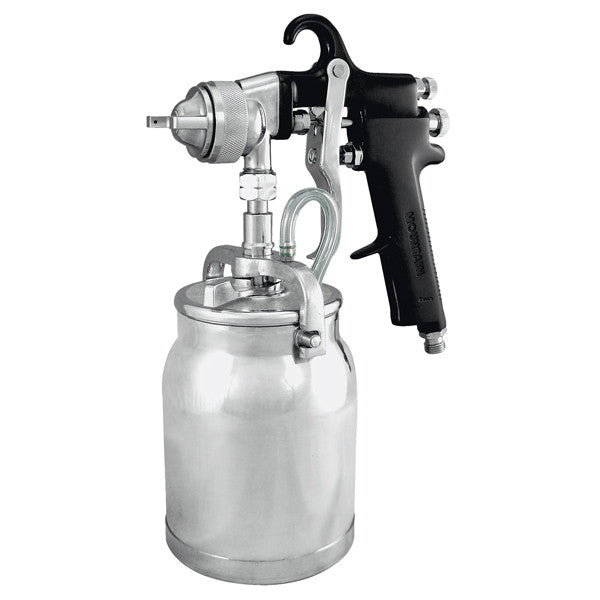 ASTRO (AS) SIPHON-FEED SPRAY GUN w/CUP (1.7mm - 1.8mm) - AOAS