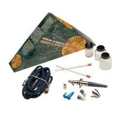 BADGER CRESCENDO DUAL-ACTION INTERNAL-MIX SIPHON-FEED AIR BRUSH SET - BA175-7