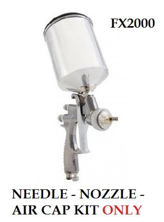 SHARPE FX2000 NEEDLE, NOZZLE, AIR CAP KIT (SH28929x Series)