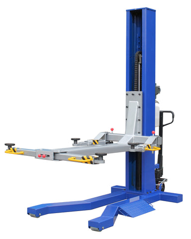 MSC-6KLP 6,000lb Mobile Single Column Lift