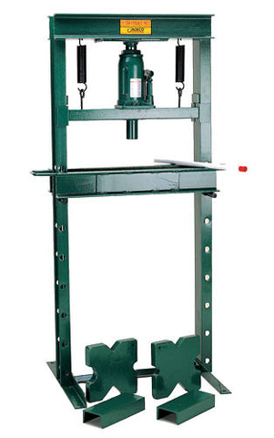 Jackco 520 20 Ton Shop Press with Bottle Jack - Free shipping