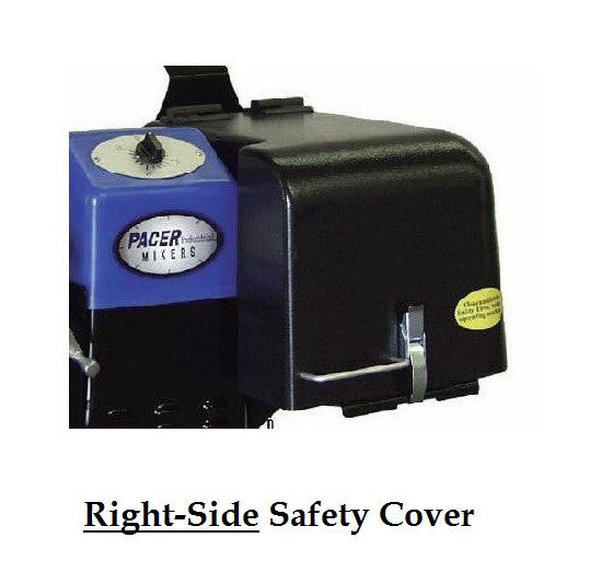 Pacer Paint Shaker Safety Cover - P-10223(Left) or (Right)