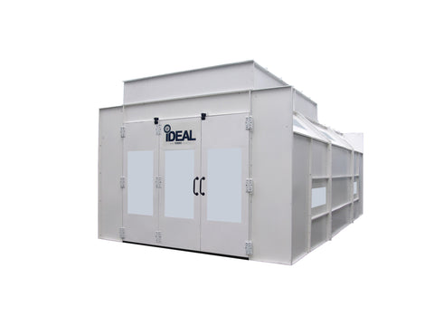 iDeal Semi-Down Spray Booth