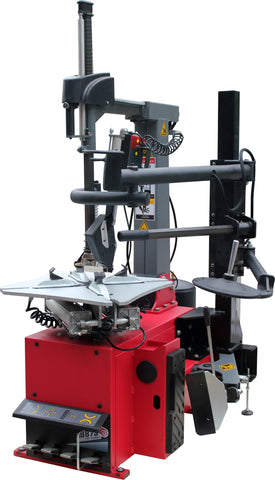 LT-1300 Tire Changer - Tiltback Press Arm w/ Leverless Demount Tool
