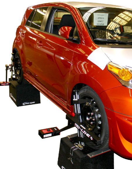Tru-Line TL-12 Deluxe Car & Light Truck 4 Wheel Laser Alignment System-Kia to a Kenworth