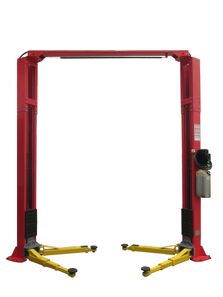 TLT210-XT Launch Tech USA 10,000lb Clear Floor Asymmetric - ALI/ETL Certified