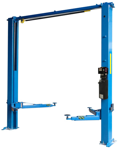 TP10KAC-DX 10,000lb 2 Post CLEAR FLOOR Car Lift - Direct Drive ALI/ETL Certified