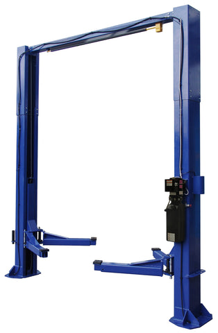 TP12KC-DX 12,000lb 2 Post CLEAR FLOOR Direct Drive Car Lift - ALI/ETL Certified