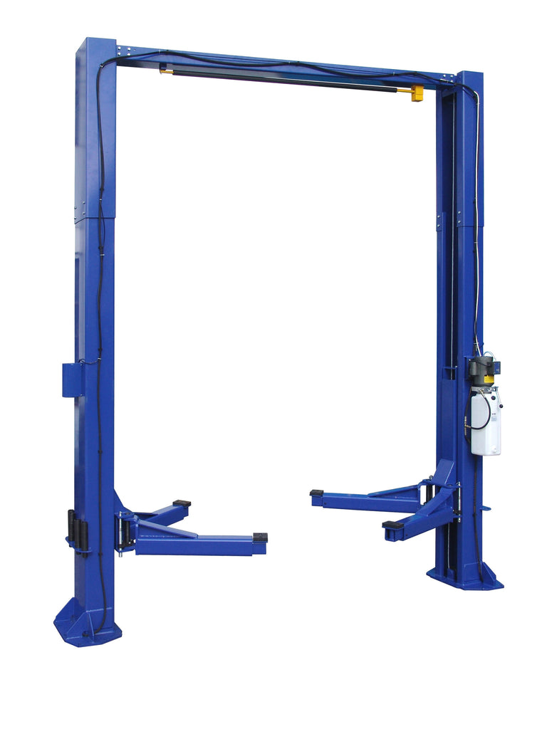 TP12KC-D 12,000lb 2 Post CLEAR FLOOR Car Lift - Direct Drive
