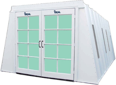 iDeal A-Frame Cross Flow Paint Booth