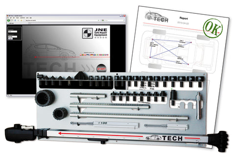 TECH-D DIGITAL MEASURING SYSTEM W/PRINT OUT - TEC-0100-D